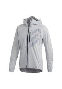 adidas Performance - TERREX AGRAVIC RAIN JACKET - Sports jacket - white - 0