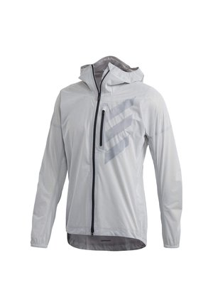 TERREX AGRAVIC RAIN JACKET - Sports jacket - white
