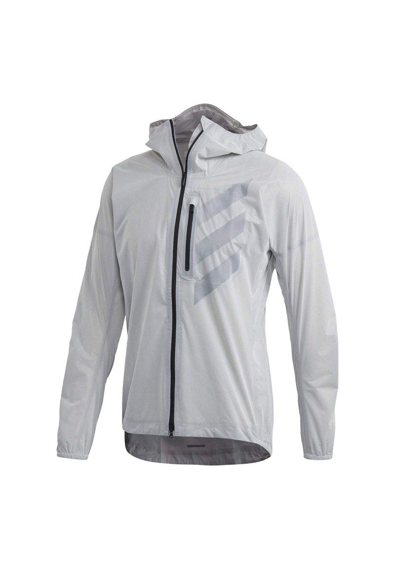 adidas Performance - TERREX AGRAVIC RAIN JACKET - Sports jacket - white