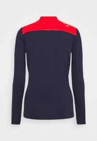 Kjus - WOMEN RETENTION JACKET - Sportovní bunda - fiery red/atlanta blue - 1