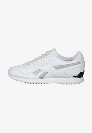REEBOK ROYAL GLIDE RIPPLE CLIP SHOES - Sneakersy niskie - white / silver metallic