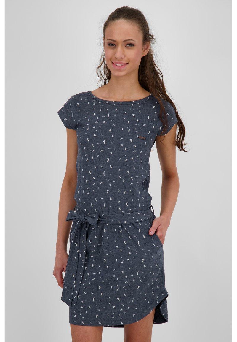 alife & kickin - Jersey dress - marine