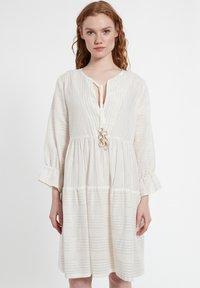 Ana Alcazar - Day dress - offwhite - 0