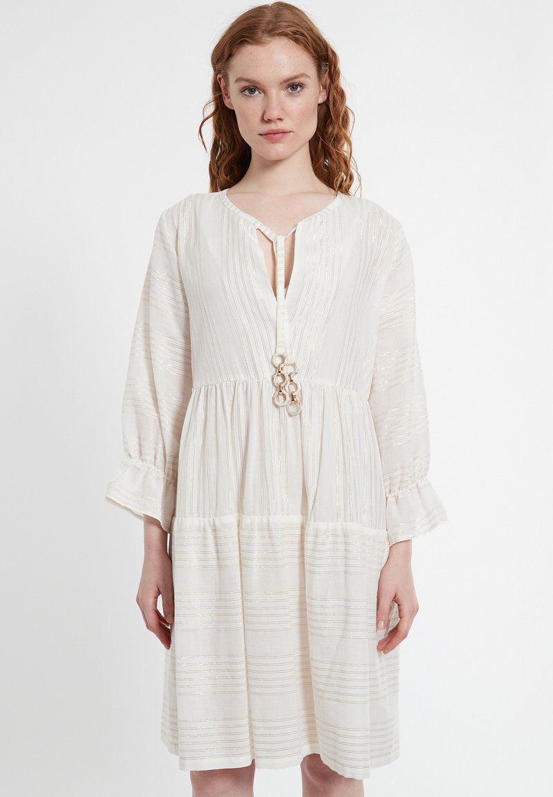 Ana Alcazar - Day dress - offwhite