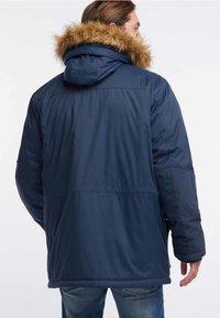 HAWKE&CO - Winter coat - dark blue - 2