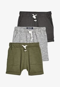 Next - 3 PACKS - Shorts - grey - 0