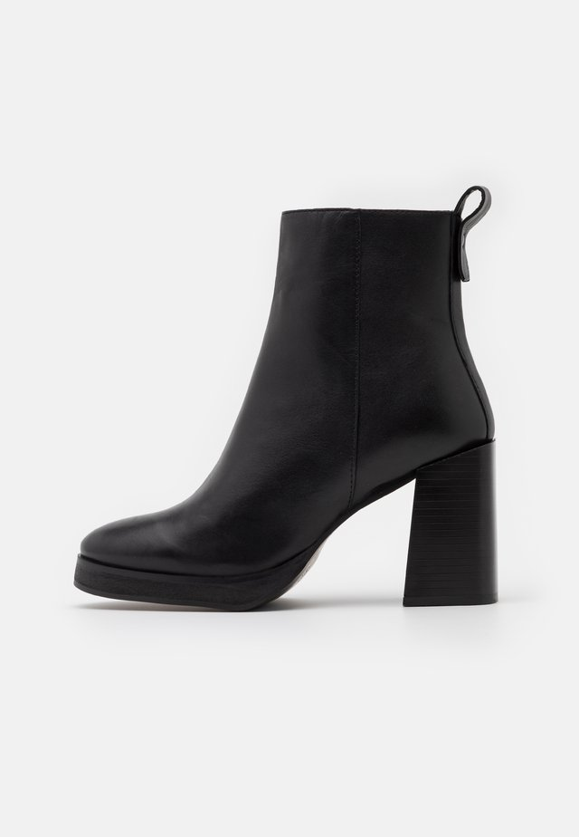 HERINGTON - High heeled ankle boots - black
