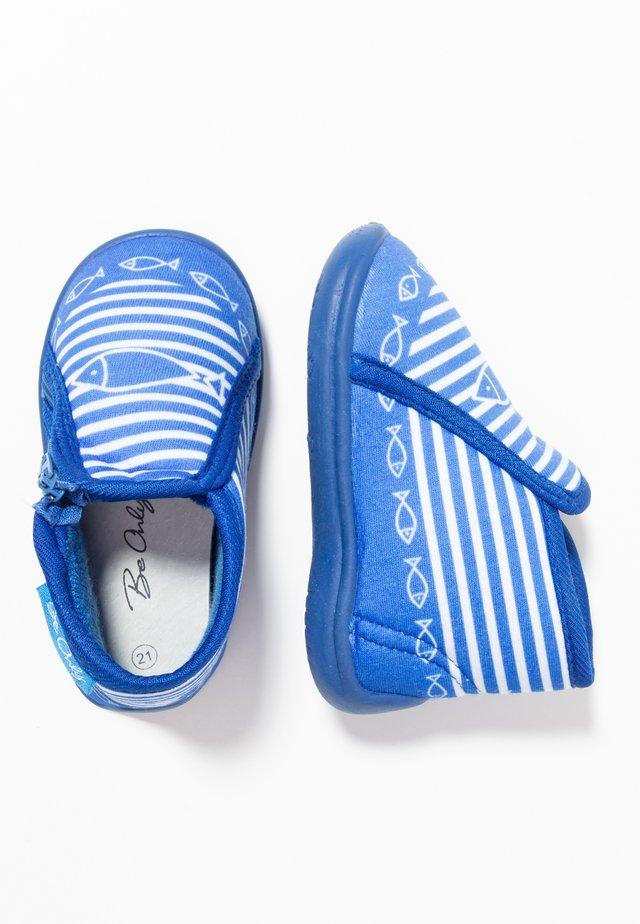 TIMOUSSON - Domácí obuv - bleu electrique