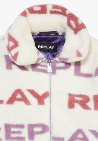Replay - Chaqueta de invierno - white/light pink/purple - 4