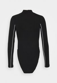 Sixth June - BODY WITH REFLECTIVE PIPING - Long sleeved top - black - 1