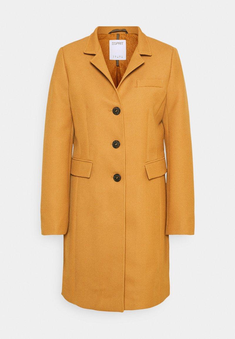 Esprit - COAT - Klasyczny płaszcz - camel