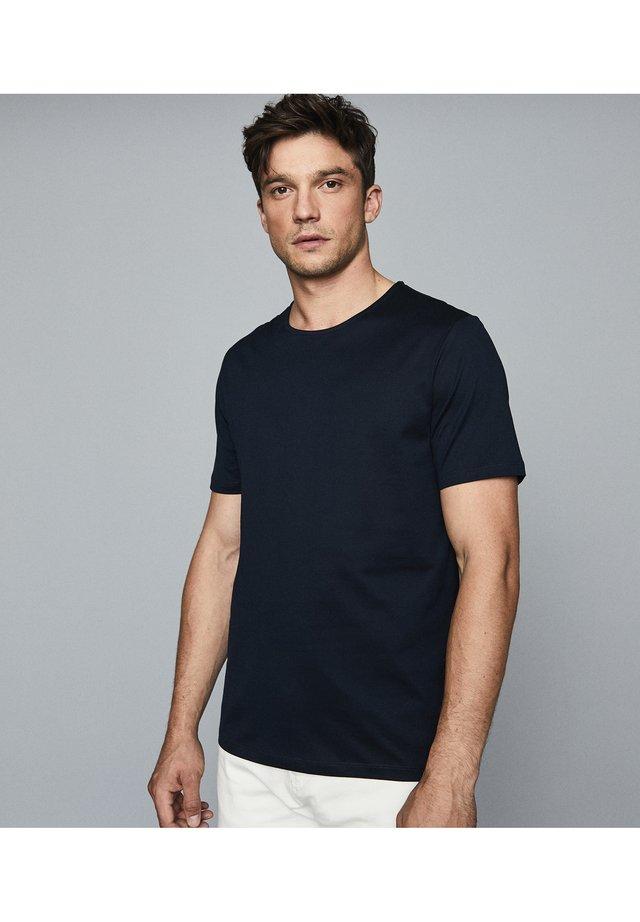 BALHAM - T-shirt basic - navy blue