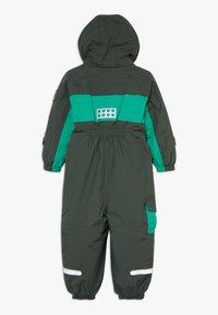 LEGO Wear - LWJULIO 707 SNOWSUIT - Snowsuit - dark green - 1