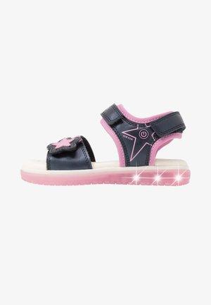 BLIKK GIRL - Sandals - navy