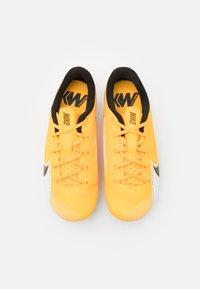 Nike Performance - MERCURIAL JR VAPOR 13 ACADEMY FG/MG UNISEX - Moulded stud football boots - laser orange/black/white - 3