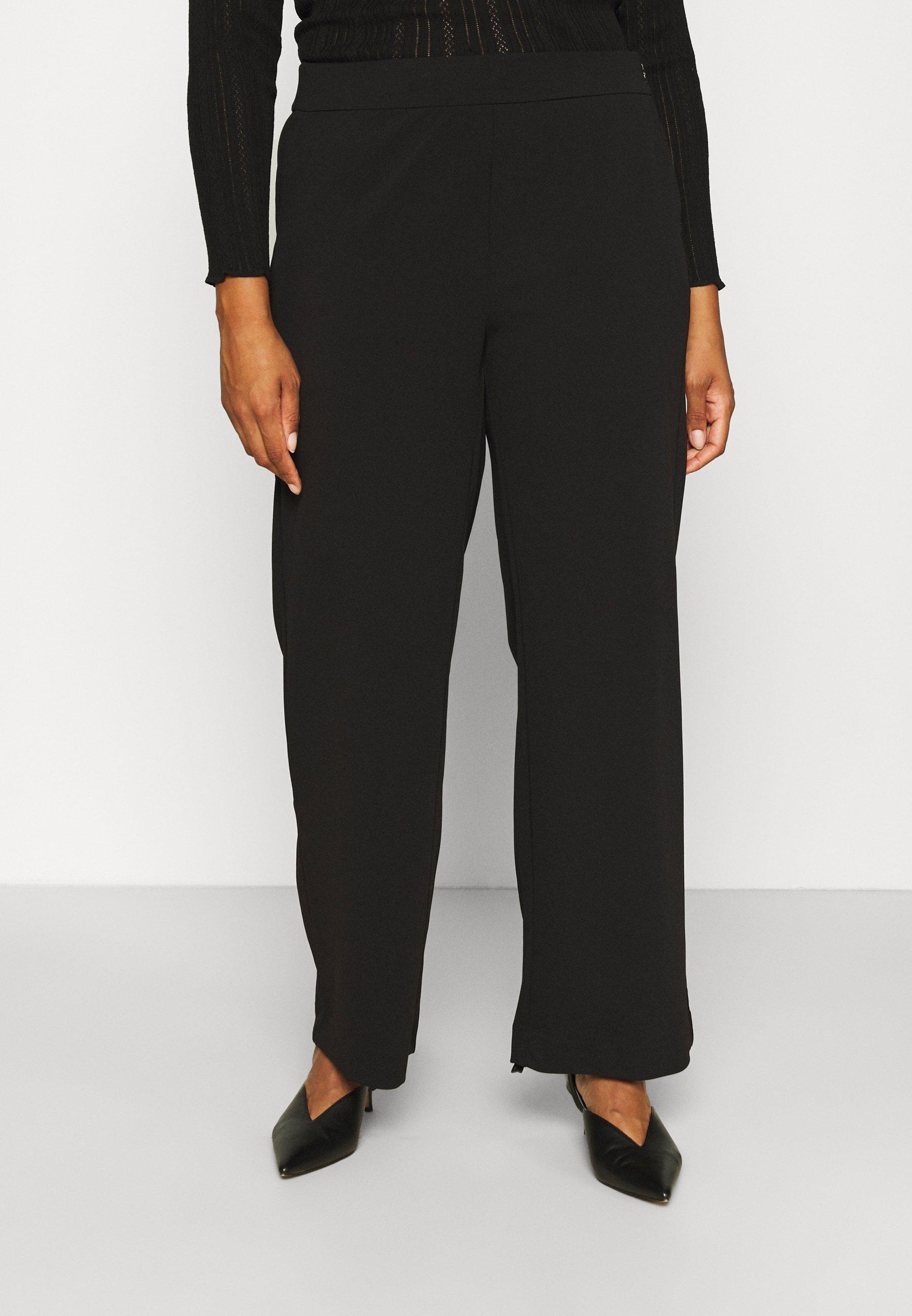 Damen VIMARY STRAIGHT PANTS - Stoffhose