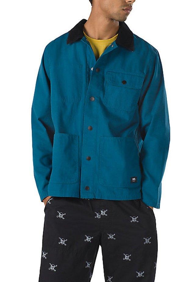 MN DRILL CHORE COAT - Summer jacket - moroccan blue