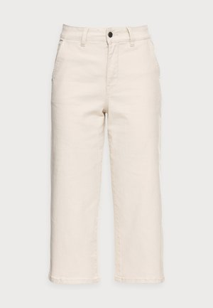 OBJMARINA JEANS - Jeans straight leg - sandshell