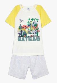 Petit Bateau - FITOU SET - Pyjama set - yellow/grey/white - 0