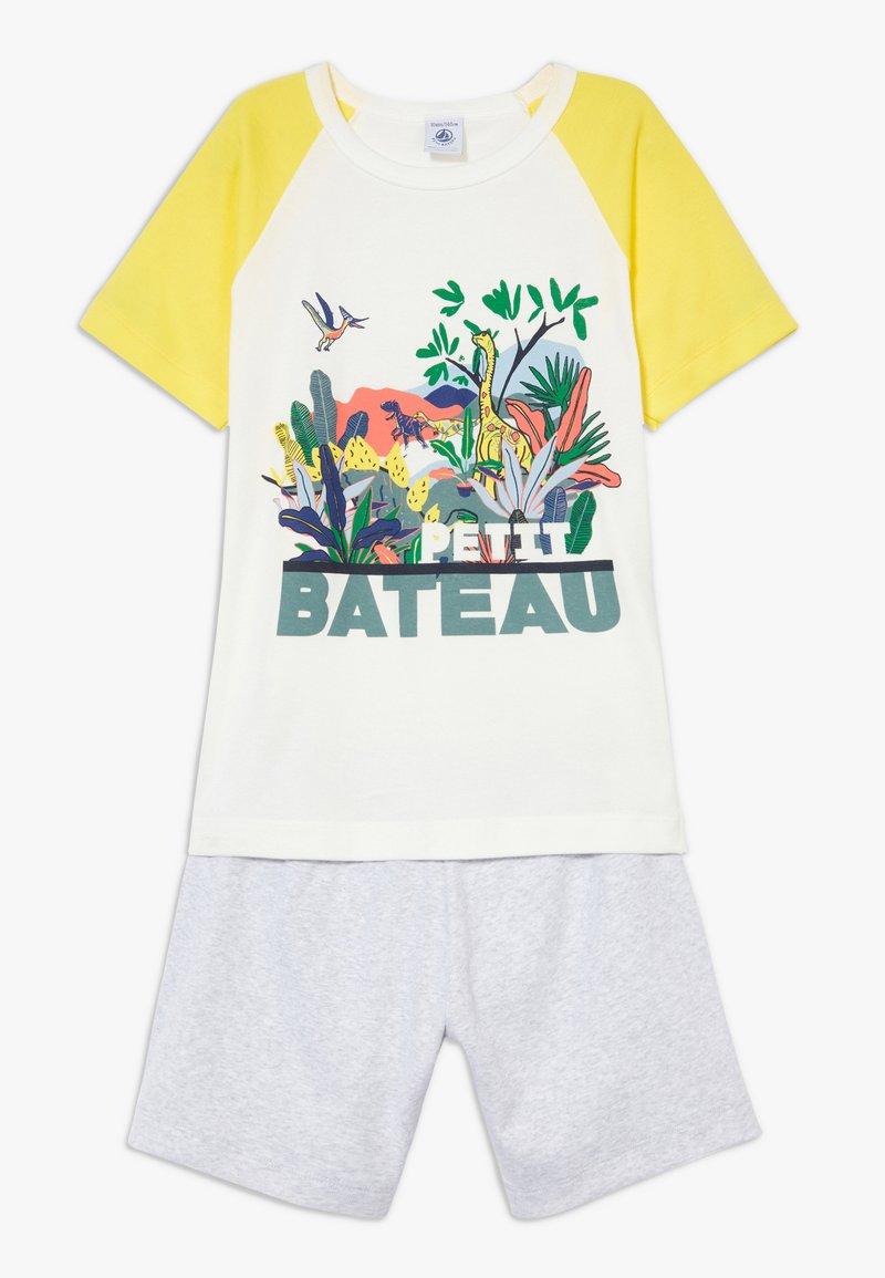 Petit Bateau - FITOU SET - Pyjama set - yellow/grey/white