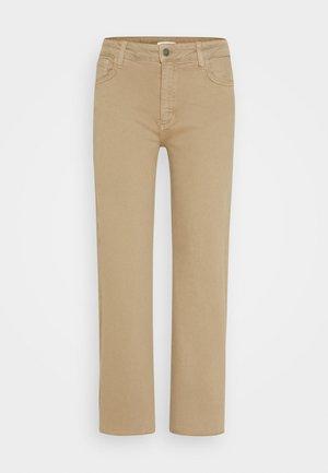 EDEN - Jeans straight leg - sand