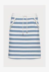 Rich & Royal - SKIRT - Mini skirt - smoked blue - 4