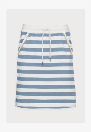 SKIRT - Mini skirt - smoked blue