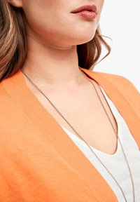 Triangle - MET EEN OPEN VOORPAND - Cardigan - orange - 4