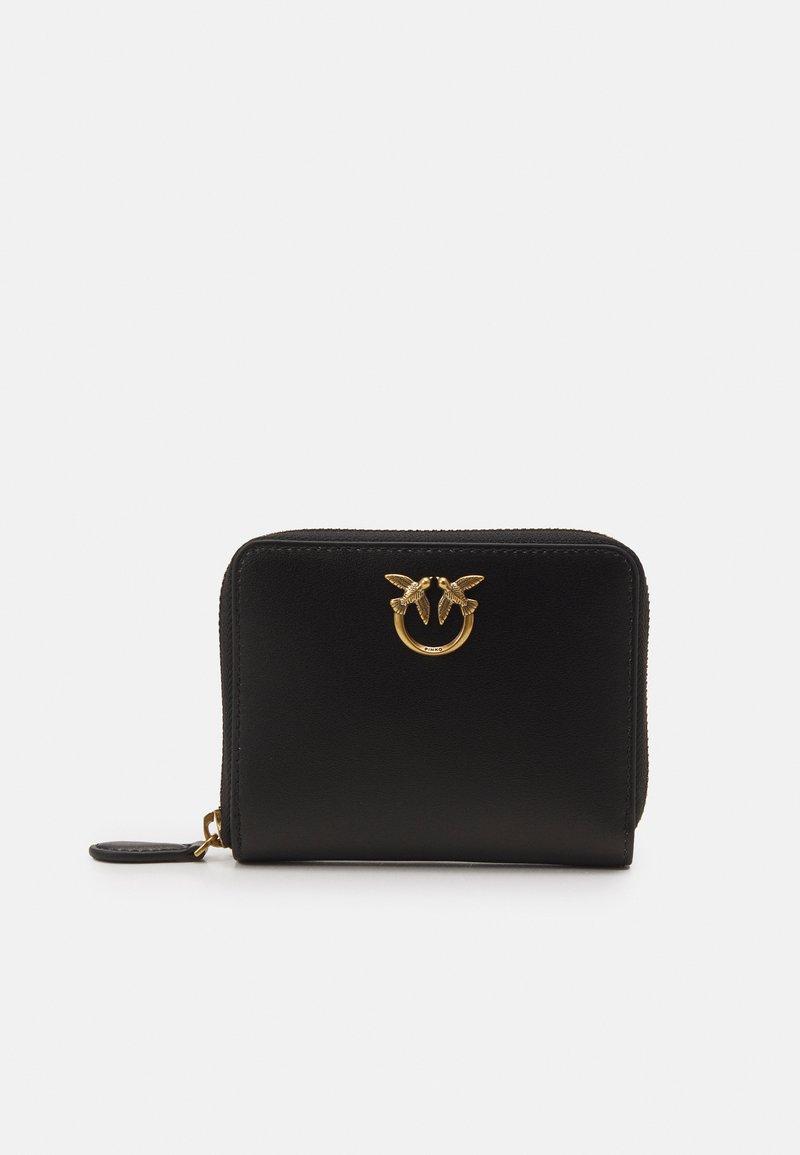 Pinko - TAYLOR WALLET ZIP AROUND SIMPLY - Wallet - black