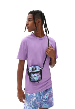 UA BAIL SHOULDER BAG - Across body bag - english lavender tie dye