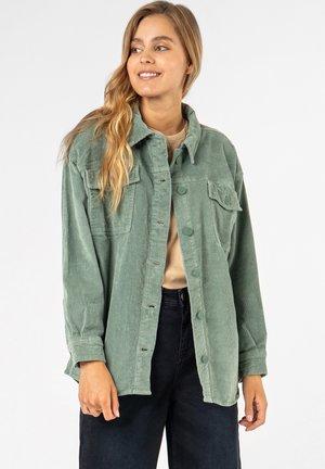 Fleece jacket - light green
