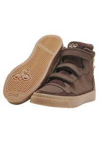 Hummel - STADIL NATURE JR - High-top trainers - chestnut - 2