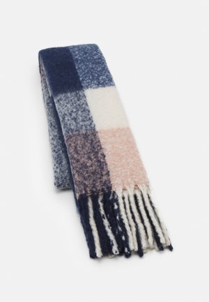 PCBEA LONG SCARF - Scarf - maritime blue/misty rose