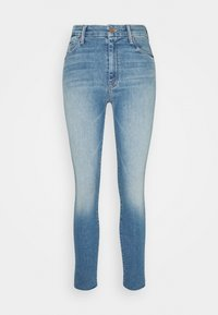 Mother - HIGH WAISTED LOOKER ANKLE FRAY SKINNY - Jeans Skinny Fit - shoot to thrill - 0