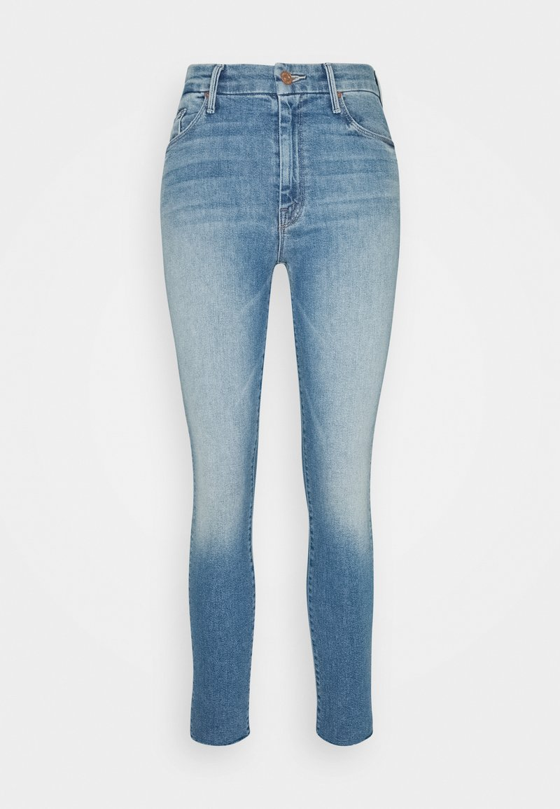 Mother - HIGH WAISTED LOOKER ANKLE FRAY SKINNY - Jeans Skinny Fit - shoot to thrill
