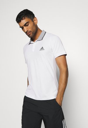 AEROREADY TENNIS SLIM SHORT SLEEVE - T-shirt sportiva - white/grey four