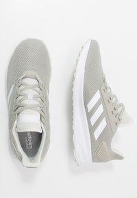 adidas Performance - DURAMO 9 - Neutral running shoes - metallic grey/footwear white/grey - 1