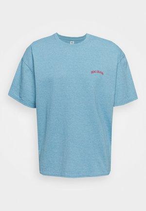 MARLED LOGO EMBROIDERED TEE UNISEX - T-shirts - blue