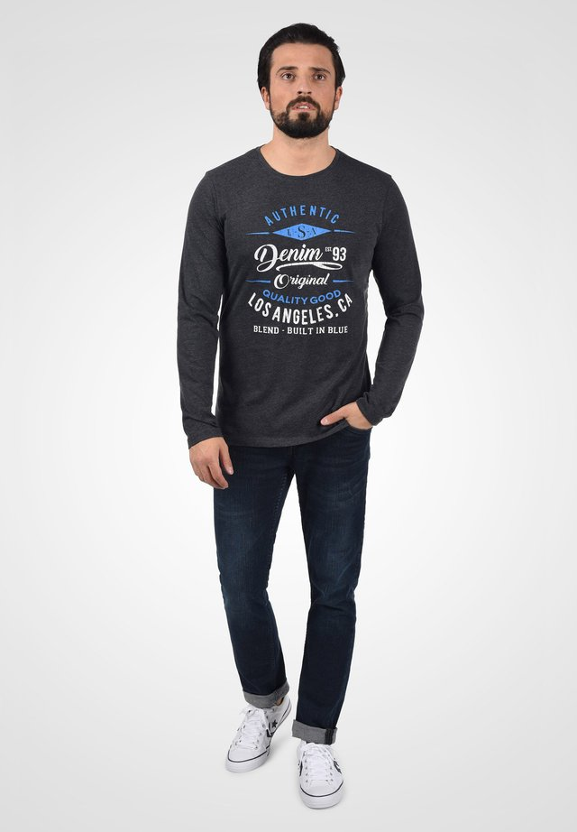 DOPPER - Long sleeved top - charcoal