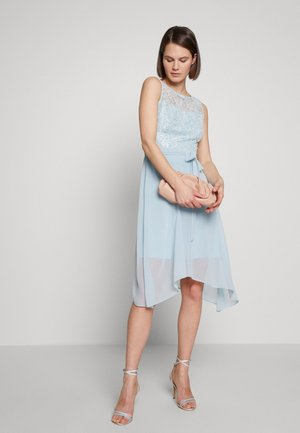 BILLIE LABEL HIGH LOW MIDI DRESS - Sukienka koktajlowa - blue