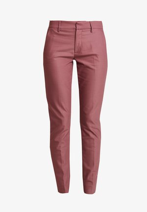 ABBEY NIGHT PANT SUSTAINABLE - Trousers - wild plum