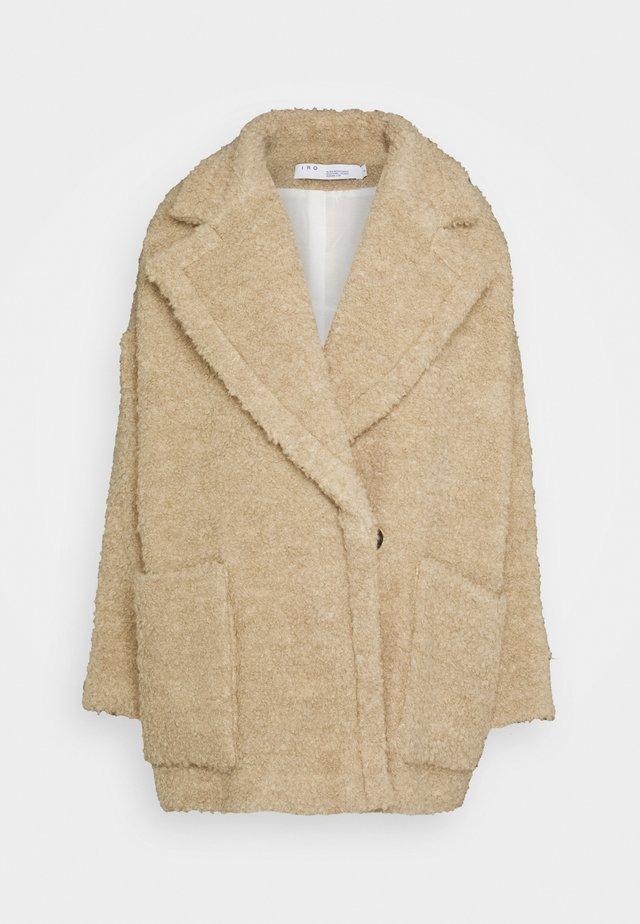 ELONA - Halflange jas - beige
