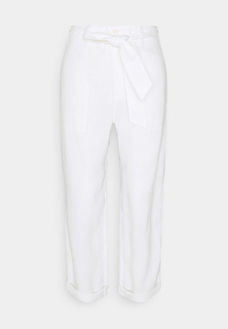 Lauren Ralph Lauren - CLASSIC PANT - Trousers - white
