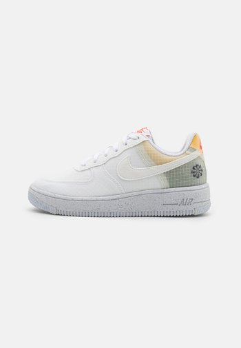 AIR FORCE 1 CRATER UNISEX - Sneakers basse - white/orange