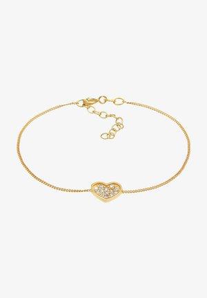 HEART - Bracelet - gold