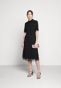 Elisabetta Franchi - Skjortklänning - nero - 1