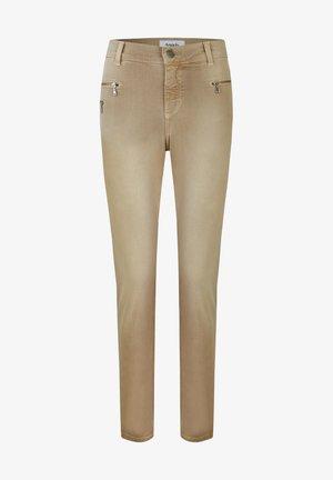 'MALU ZIP'  - Jeans Skinny Fit - beige