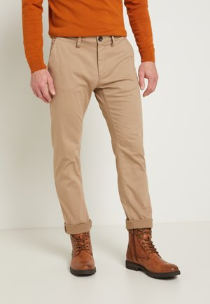 STRUCTURE - Chinos - sandy dust beige