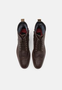 Shelby & Sons - HOCKLEY BROGUE BOOT - Lace-up ankle boots - brown - 3