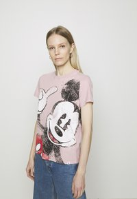 Desigual - MICKEY - T-shirt print - red - 0